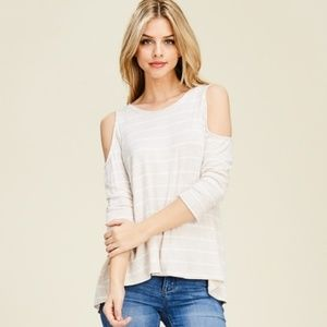 Papermoon Kelsey cold shoulder top